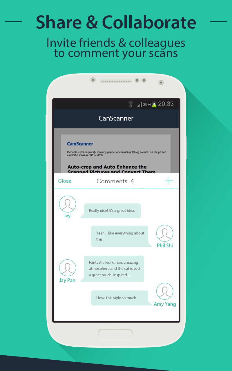 Camscanner - Android - English