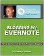 Blogging w/ Evernote