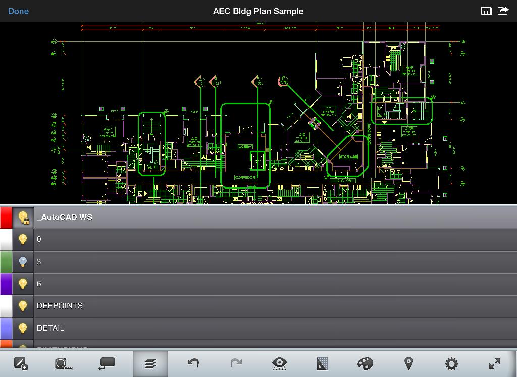 autocad 360 - ipad - english