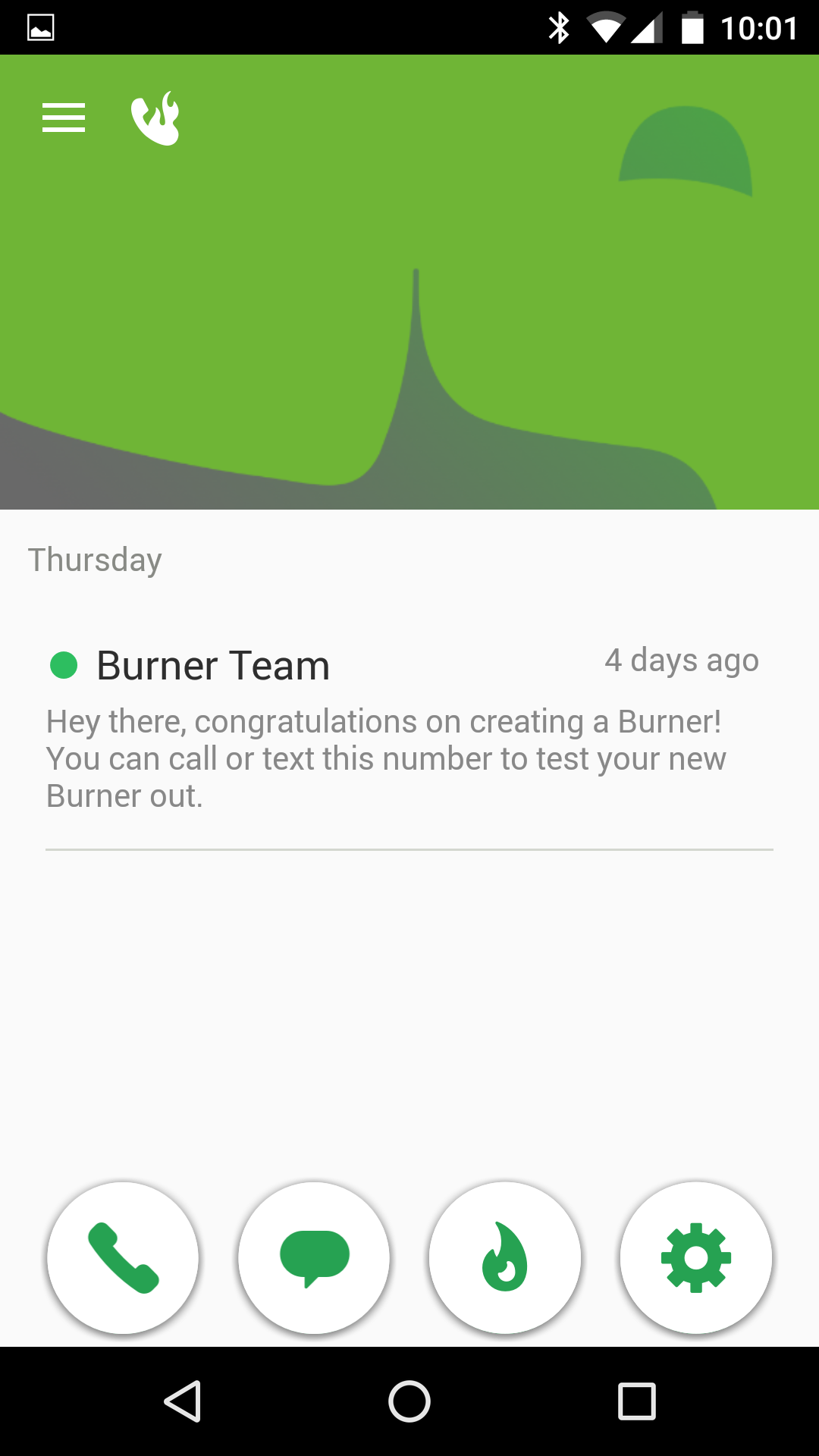 Burner - Android - English - Evernote App Center