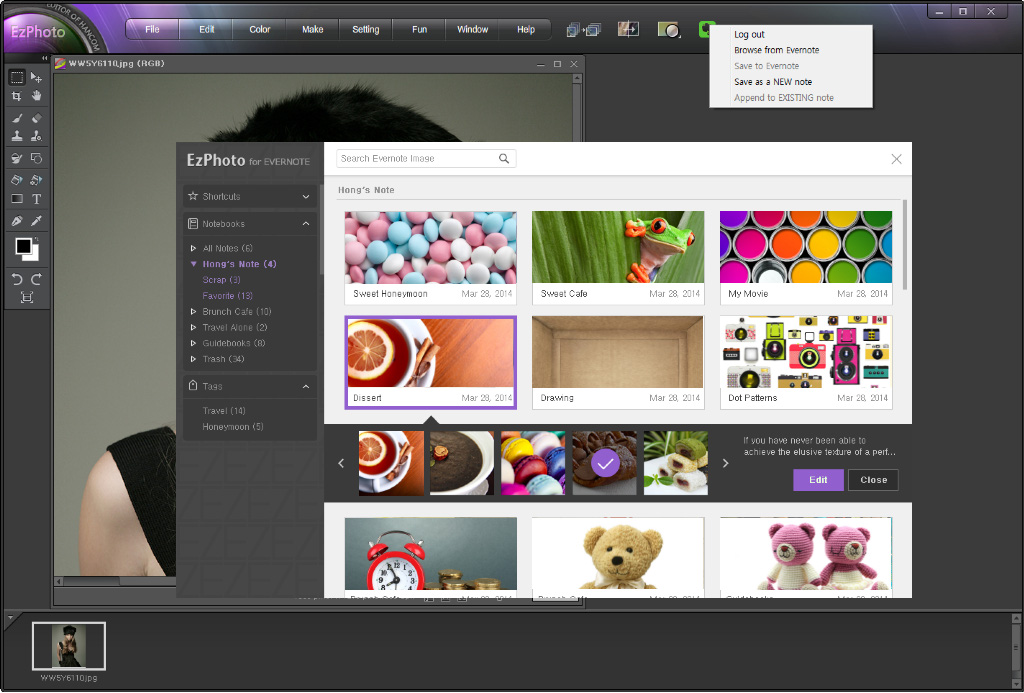 EzPhoto 3 VP - Windows - English - Evernote App Center