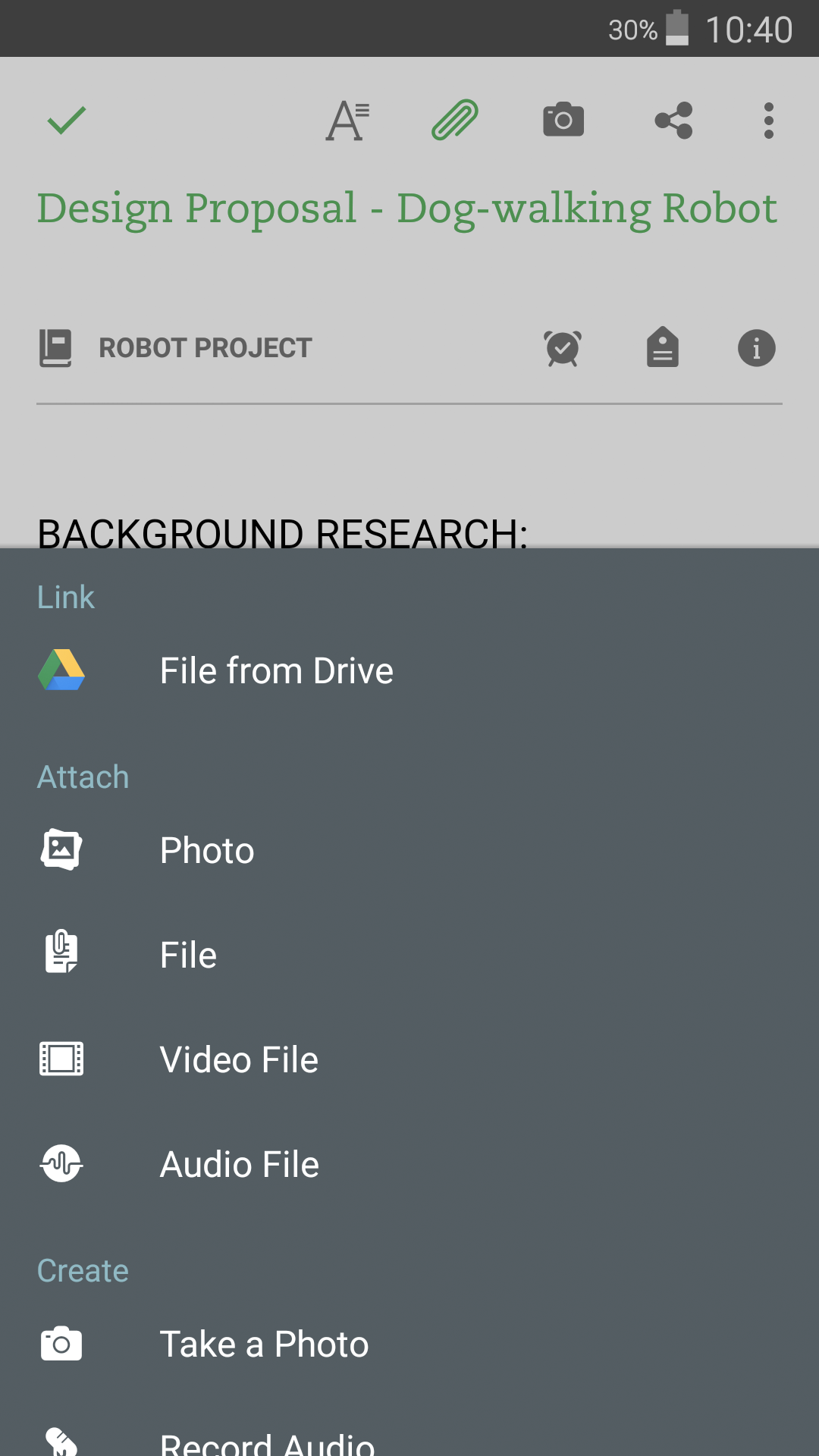 Google Drive - Android - English