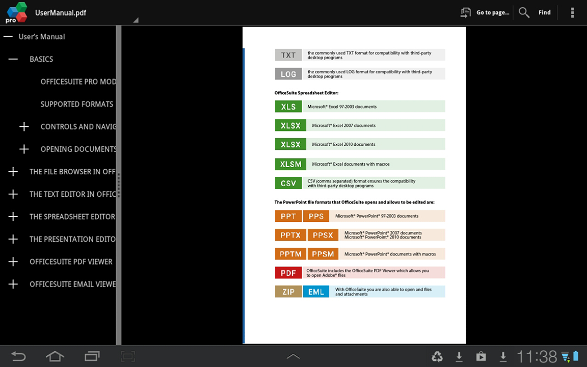 Office Suite Pro - Android Tablet - English - Evernote App ...
