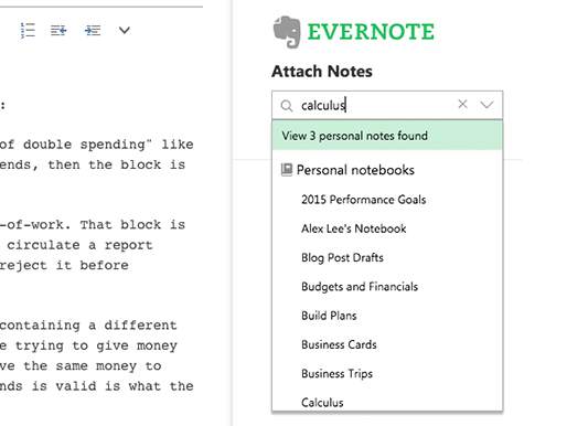 Evernote for Outlook - Web - English - Evernote App Center