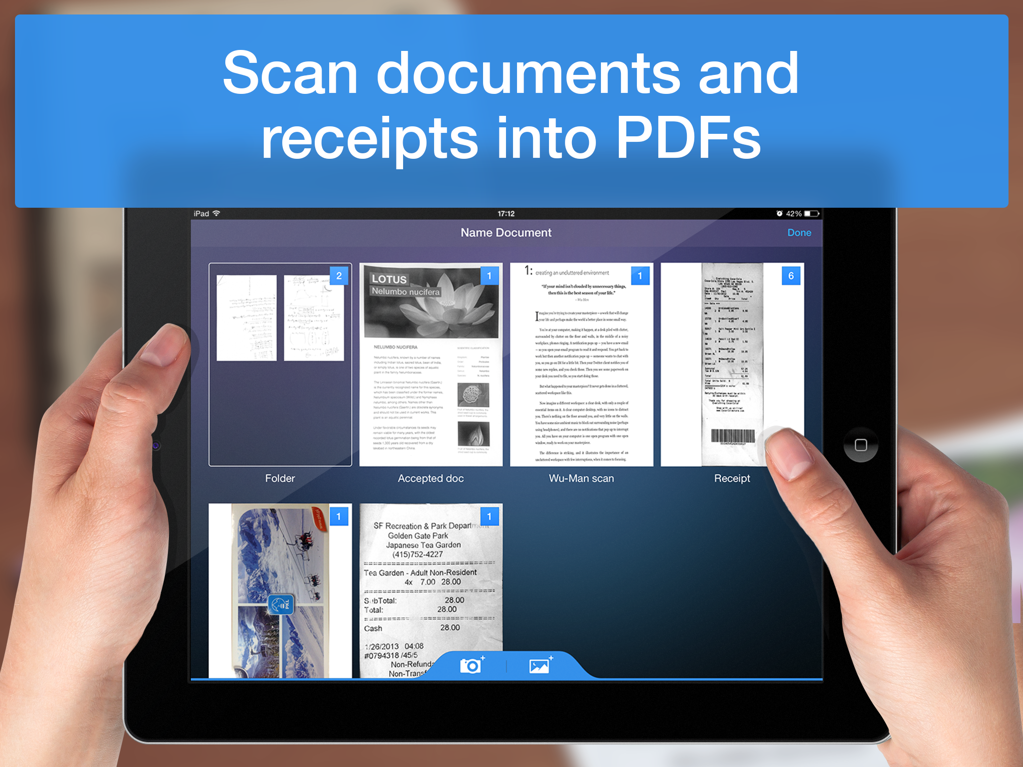 Scanner Pro - iPad - English - Evernote App Center