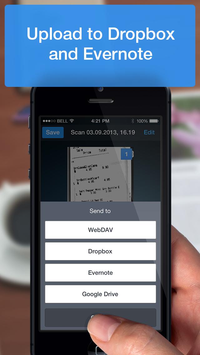scanner pro iphone english evernote app center. Black Bedroom Furniture Sets. Home Design Ideas