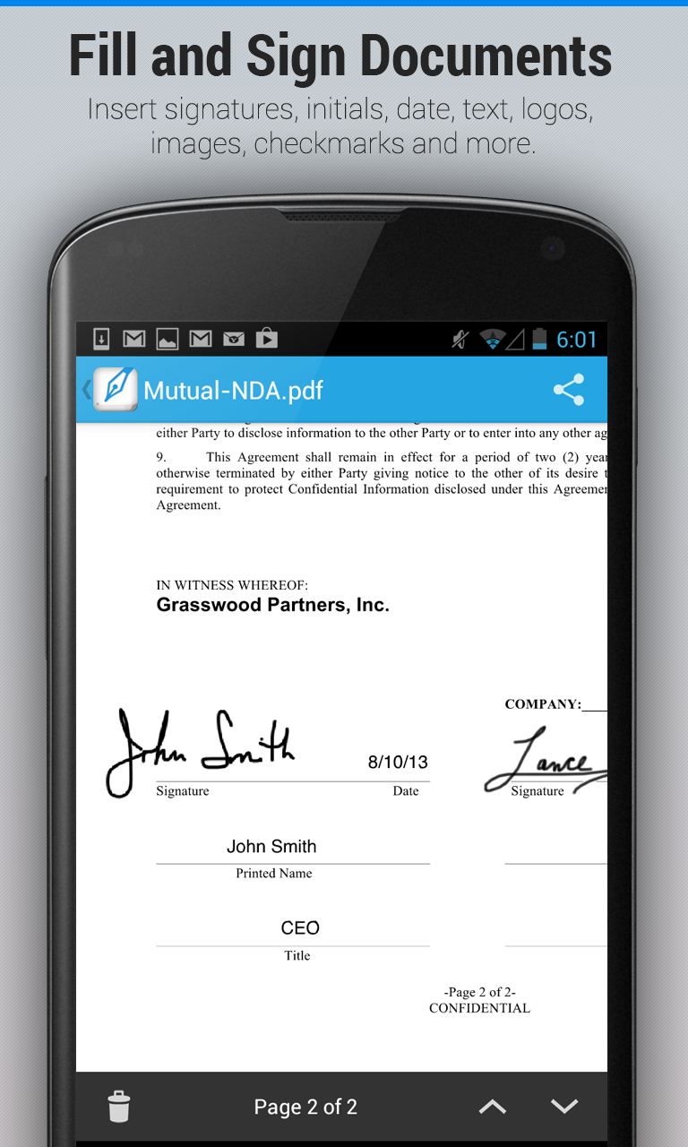 Signeasy - Android - English
