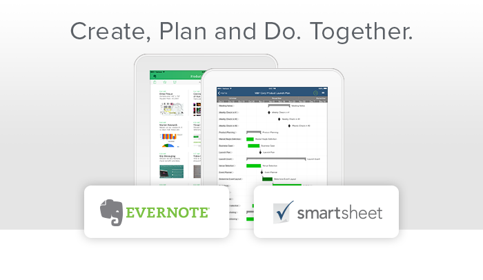 Smartsheet - iPhone - English - Evernote App Center