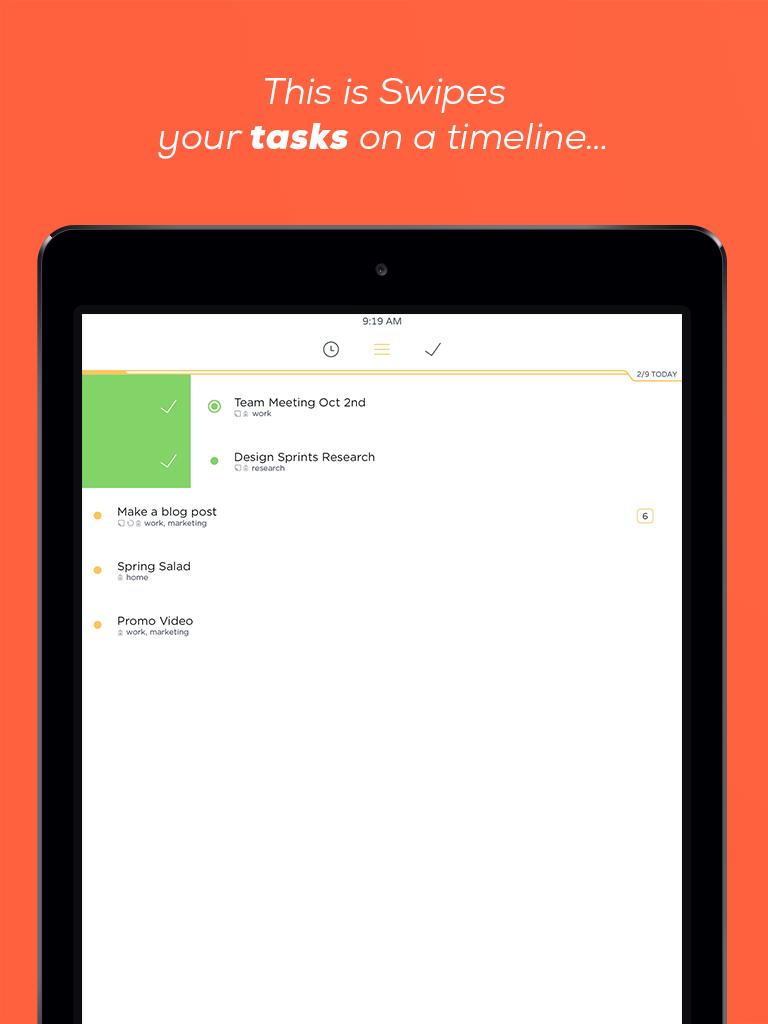 Swipes - iPad - English - Evernote App Center