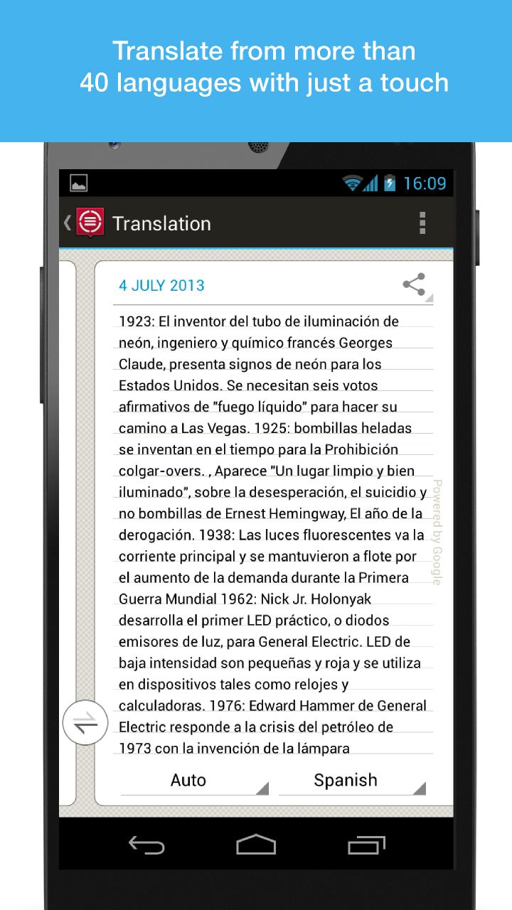 ABBYY TextGrabber + Translator - Android - English ...