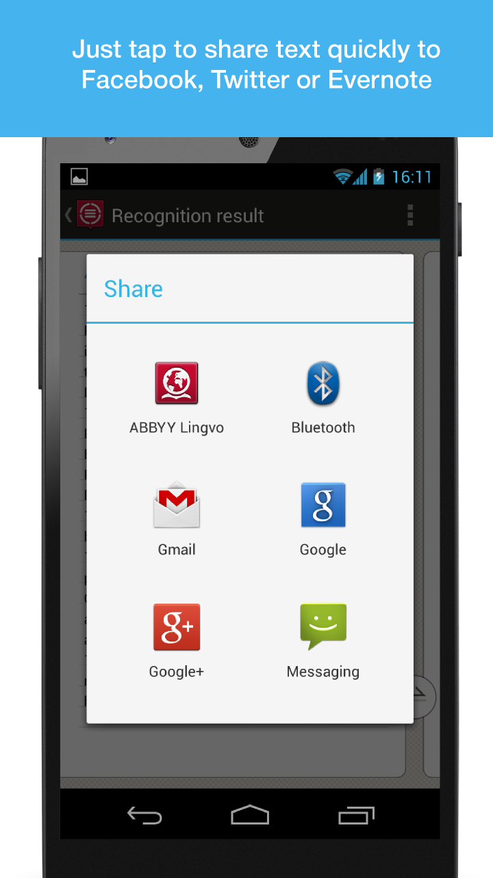 ABBYY TextGrabber + Translator - Android - English ...