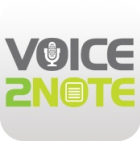 Voice2Note app icon
